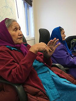 Elder Indigenous midwives in northern Canada