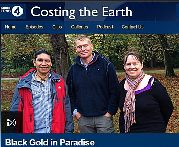 BBC Radio 4 Costing the Earth Yasuni episode