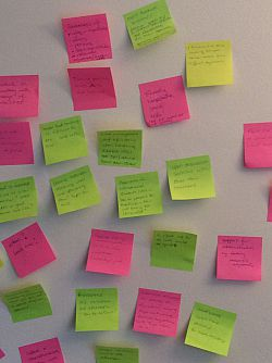 Post-its from TaLES session 1