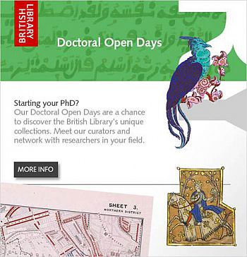 Image - British Library Doctoral Open Days