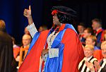 Image of Doctoral Researcher at Winter Graduation 2014-15