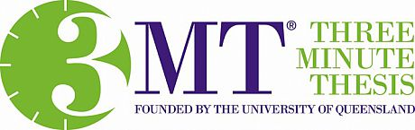 Three Minute Thesis (3MT) Logo