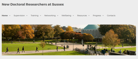 New doctoral researchers at Sussex - Screenshot