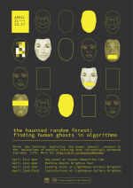 Poster advertising Haunted Random Forest festival