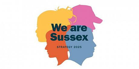 We Are Sussex logo for Strategy 2025