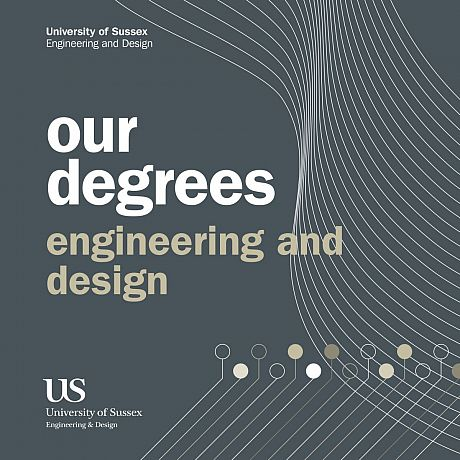 Front cover of Engineering and Design Undergraduate Degrees Booklet