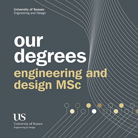 Front cover of Engineering and Design Postgraduate Degrees Booklet