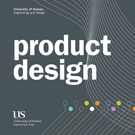Front cover for Product Design Brochure