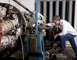 Dr Chris Long, Head of the Thermo-Fluid Mechanics Research Centre