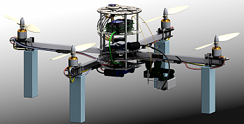 Image of MEng student project: Aerial Vehicle for Video Reconnaissance