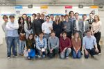 Group photograph of the 2012 Product Design students
