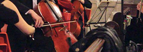 close up cello
