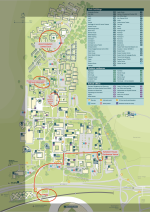 Campus Map of University of Sussex for BLC'17