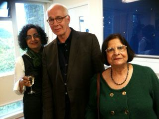 Avtar Brah, David Morley and Nirmal Puwar who spoke at the SCCS event in honour and memory of Stuart Hall on May 8th 2014