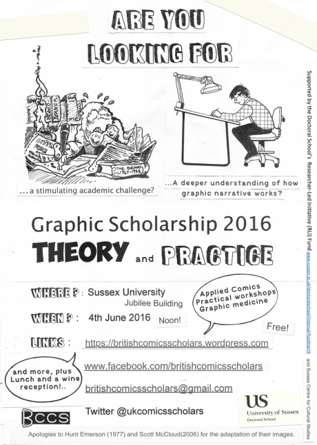 Graphic Scholarship Poster