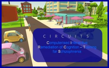 Circuits screenshot: Computerised Interactive Remediation of Cognition Training for Schizophrenia