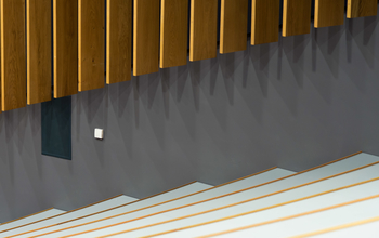 Stairs and internal features symbolising the step-by-step process of applying for a job