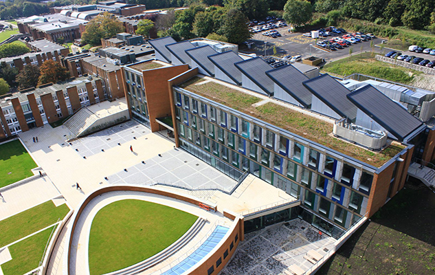 Jubilee Square, one of the more recent building developments on campus