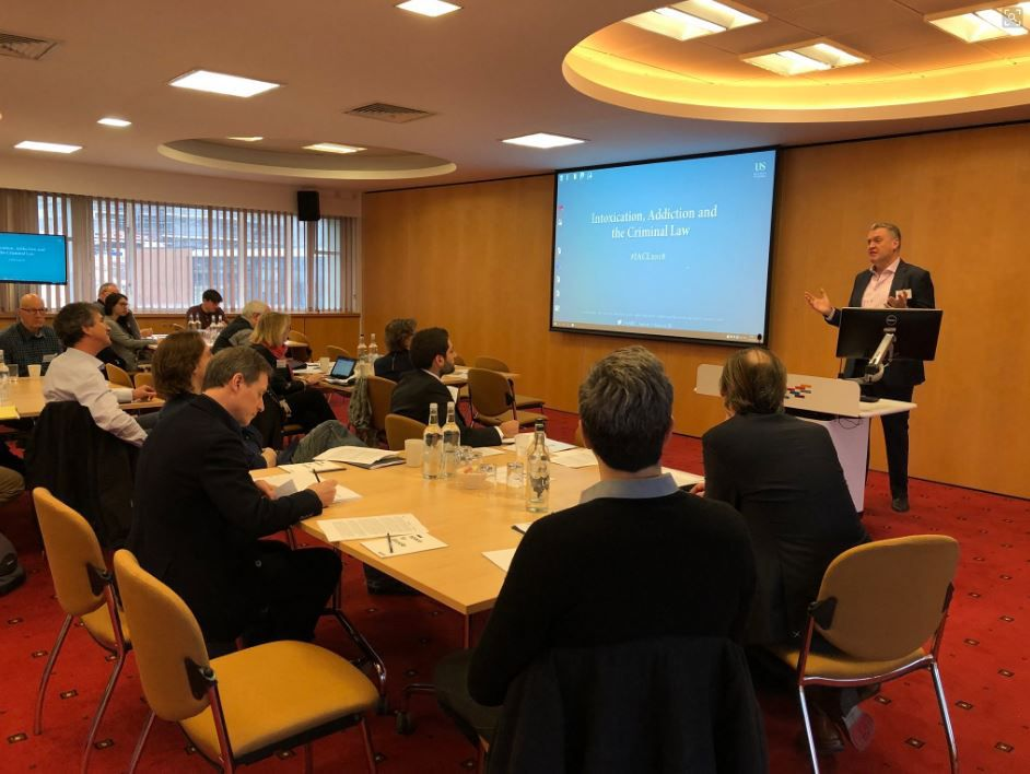 Conference: Intoxication, Addiction and the Criminal Law