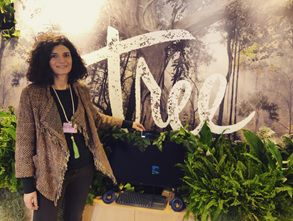 Dr Emanuela Maggioni at the World Economic Forum in Davos.