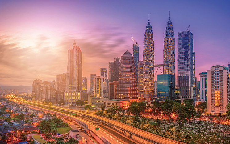 Photo of Kuala Lumpar skyline