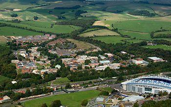 Sussex University campus