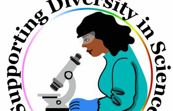 Supporting diversity in science at the University of Sussex logo