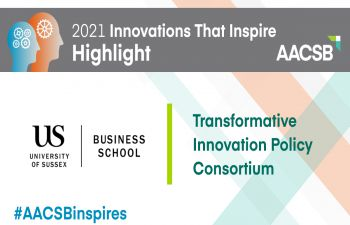 AACSB 2021 Innovations That Inspire Award logo