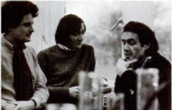 Dr Gerry Webster with colleagues in 1968