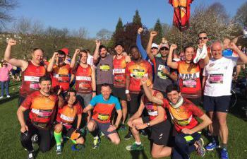 University of Sussex marathon runners