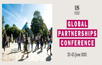 Conference dates 23-25th June with photo of campus