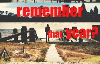 Title scene for 'Do you remember that year?' film