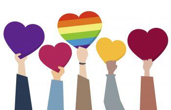 diversity hearts graphic