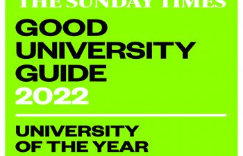 University of the Year for Student Retention 2022 logo