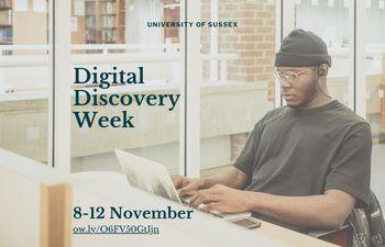 Digital Discovery Week 8-12 November
