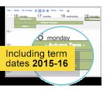 first day of term shown in an OWA calendar