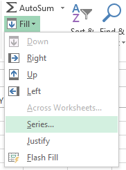 how to make a letter represent a number in excel