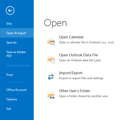 1456  How to use Outlook Data Files to make offline copies