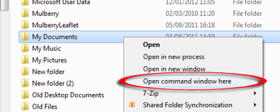 2553  How can I produce a list of files within a folder in