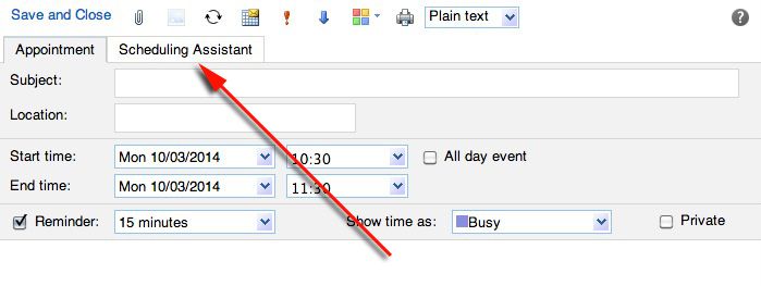 2642  How do I check people's availability when planning a meeting