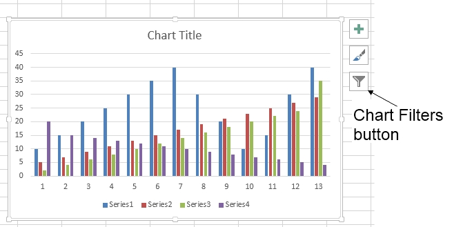 264  How can I make an Excel chart refer to column or row headings