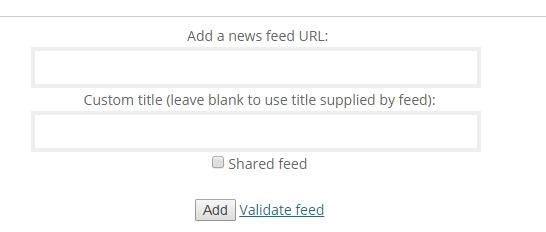 1253  How can I add an RSS newsfeed from another site? : Frequently