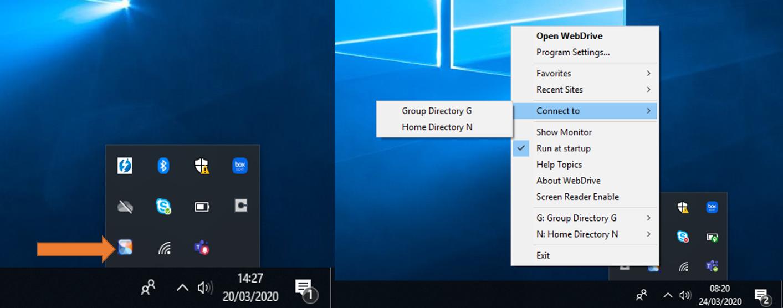 WebDrive Access