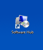 Software Hub icon on the desktop