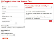 mathematica trial activation key