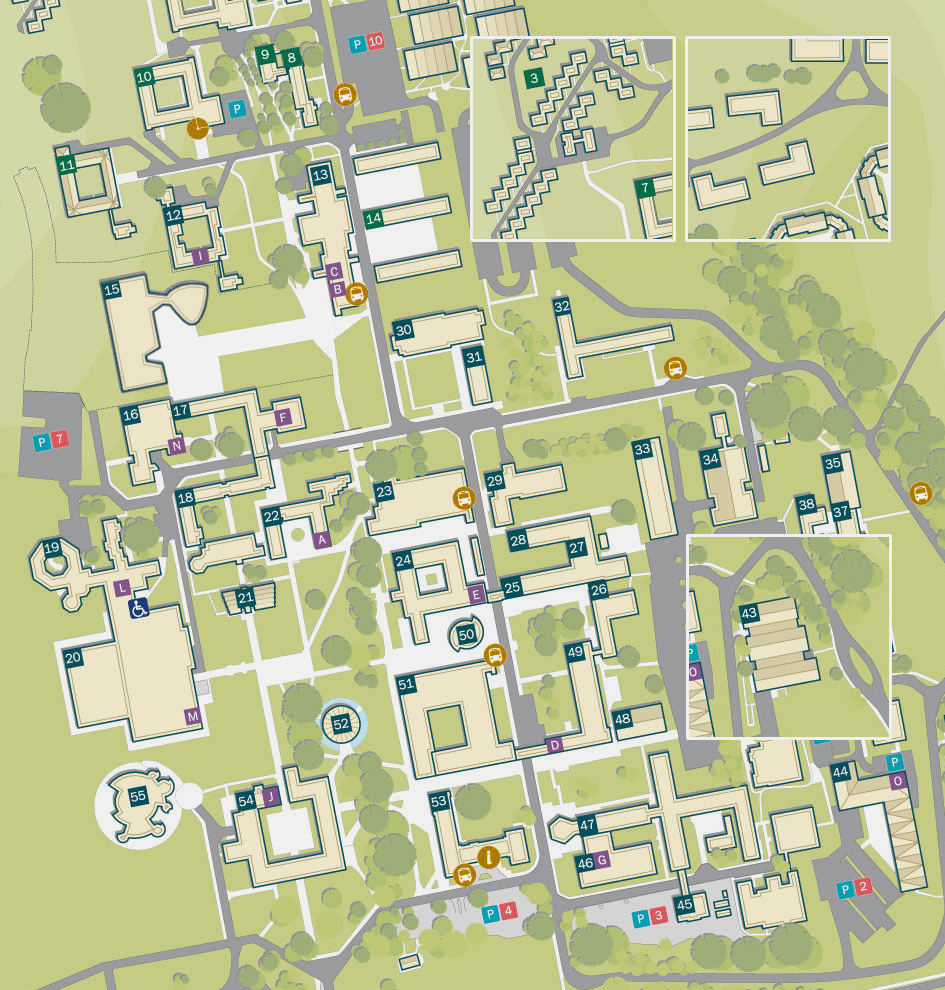 university of sussex northfield map
