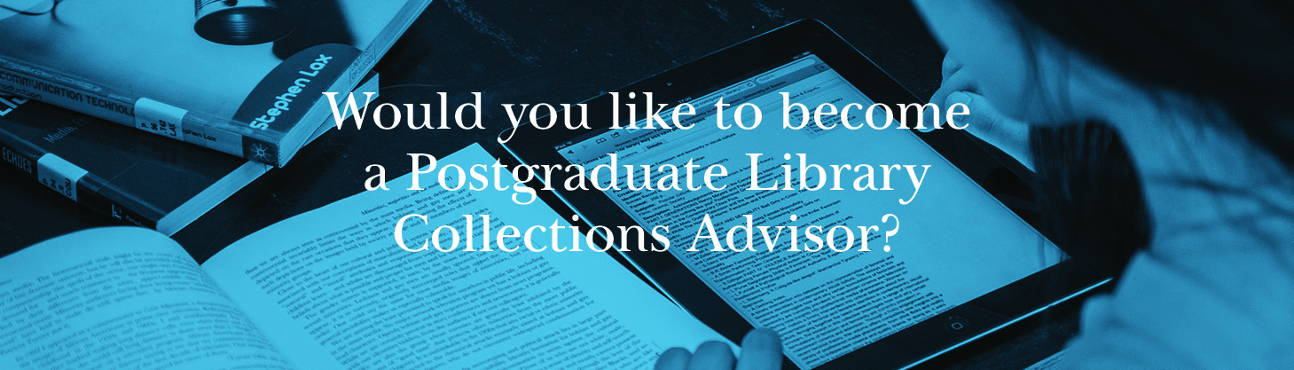 Postgraduate Collections Advisor applications now open