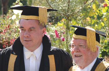 Professor Smith and Lord Attenborough