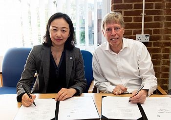 SIgning of MoU between Sussex and Shanghai University