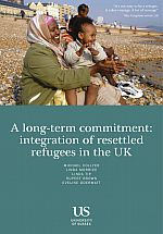 Refugee Resettlement final report cover